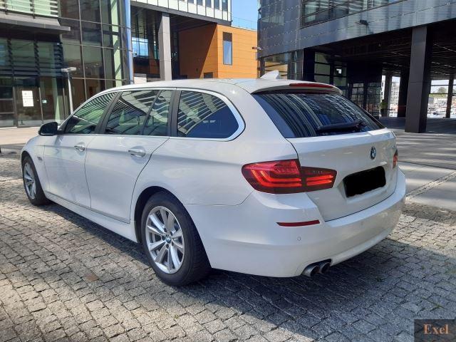 Wynajmij BMW 518d (kombi) | Wypożyczalnia Samochodów Exel |  - zdjęcie nr 3