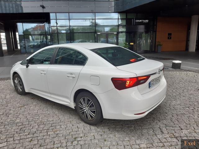 Wynajmij Toyotę Avensis | Wypożyczalnia Samochodów Exel |  - zdjęcie nr 3