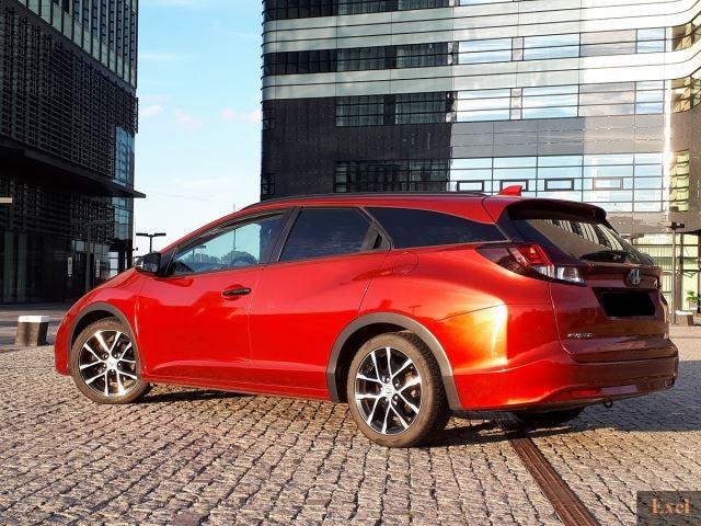 Wynajmij Hondę Civic (kombi z GPS) | Wypożyczalnia Samochodów Exel |   - zdjęcie nr 3